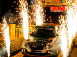 Ceremonia Salida Rally