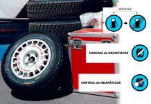 Zona de Repostaje y marcaje de neumáticos