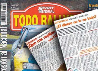Artículos Revista Todo Rallyes