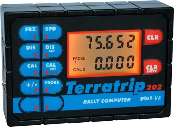 Terratrip. Uno de los modelos más populares, muy usado en Raids, regularidad y navegación.