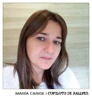 María Caride-copiloto