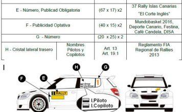 verificaciones técnicas en un rally