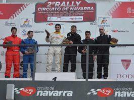 fin rally entrega premios podium